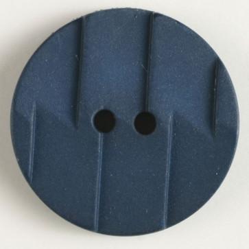 Dill button 28mm navy textured round