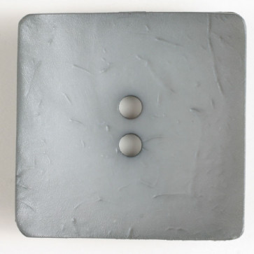 Square 2-hole Pewter Button