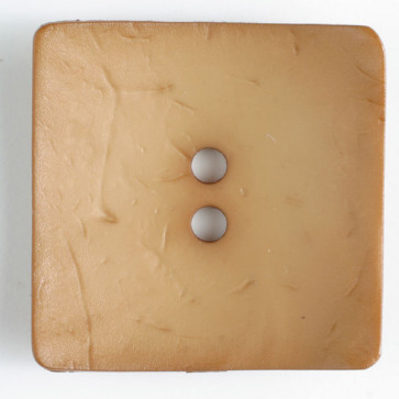 Square 2-hole Butternut Button