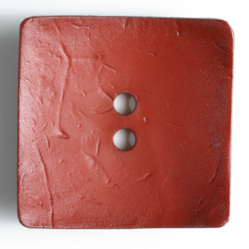 60 mm Square Button Wine Red
