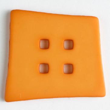 Dill Button Mod Square Orange 55MM