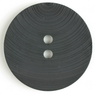 54 mm Round Button - Black