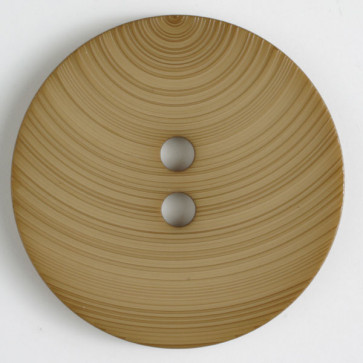 Dill Button 54mm round tan