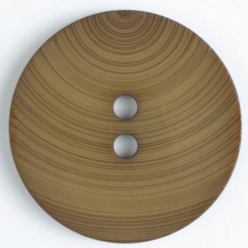 Round Hydrangea Swirl Button