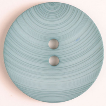 Textured Swirl Button 2-1/8in - Teal