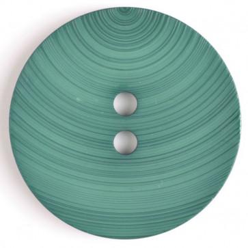 Textured Swirl Button Green