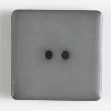 Dill Button Square 25mm Grey