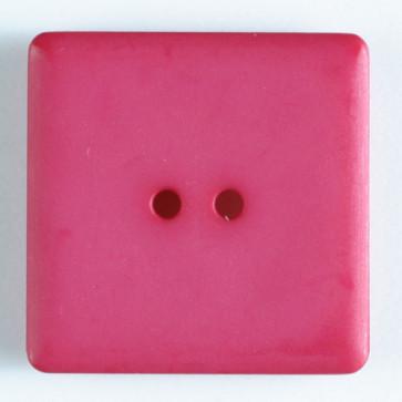 Dill Button Square 25mm Fuchsia