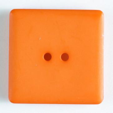 Dill Button Square 25mm Orange