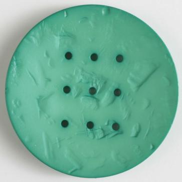60mm Monogram Button Green