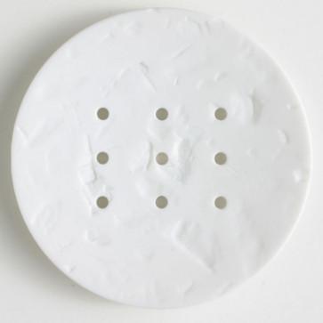 Monogram 60 mm button - White