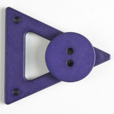 N- Button Triangle Closure Lilac