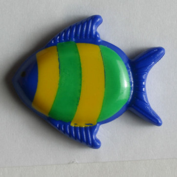 18 MM Fish Shaped Button