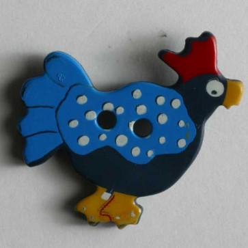 Blue Chicken Button