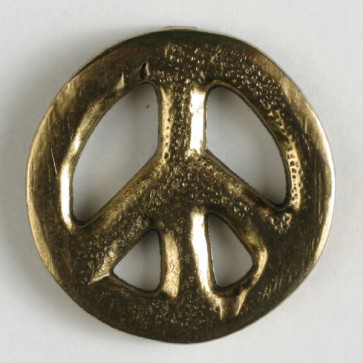 Dill Buttons 340909 gold peace