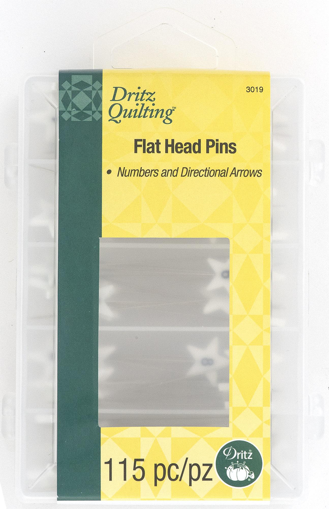 Flat Head Pins-3019