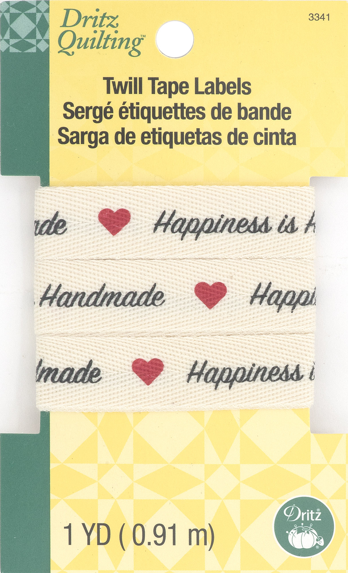 Twill Tape Labels- Happiness is Homemade