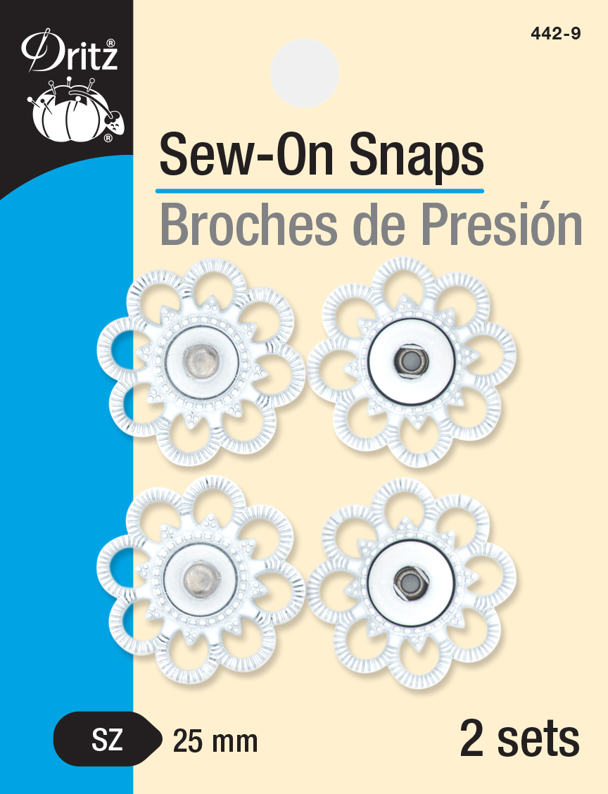 Sew-On Snaps-442-9
