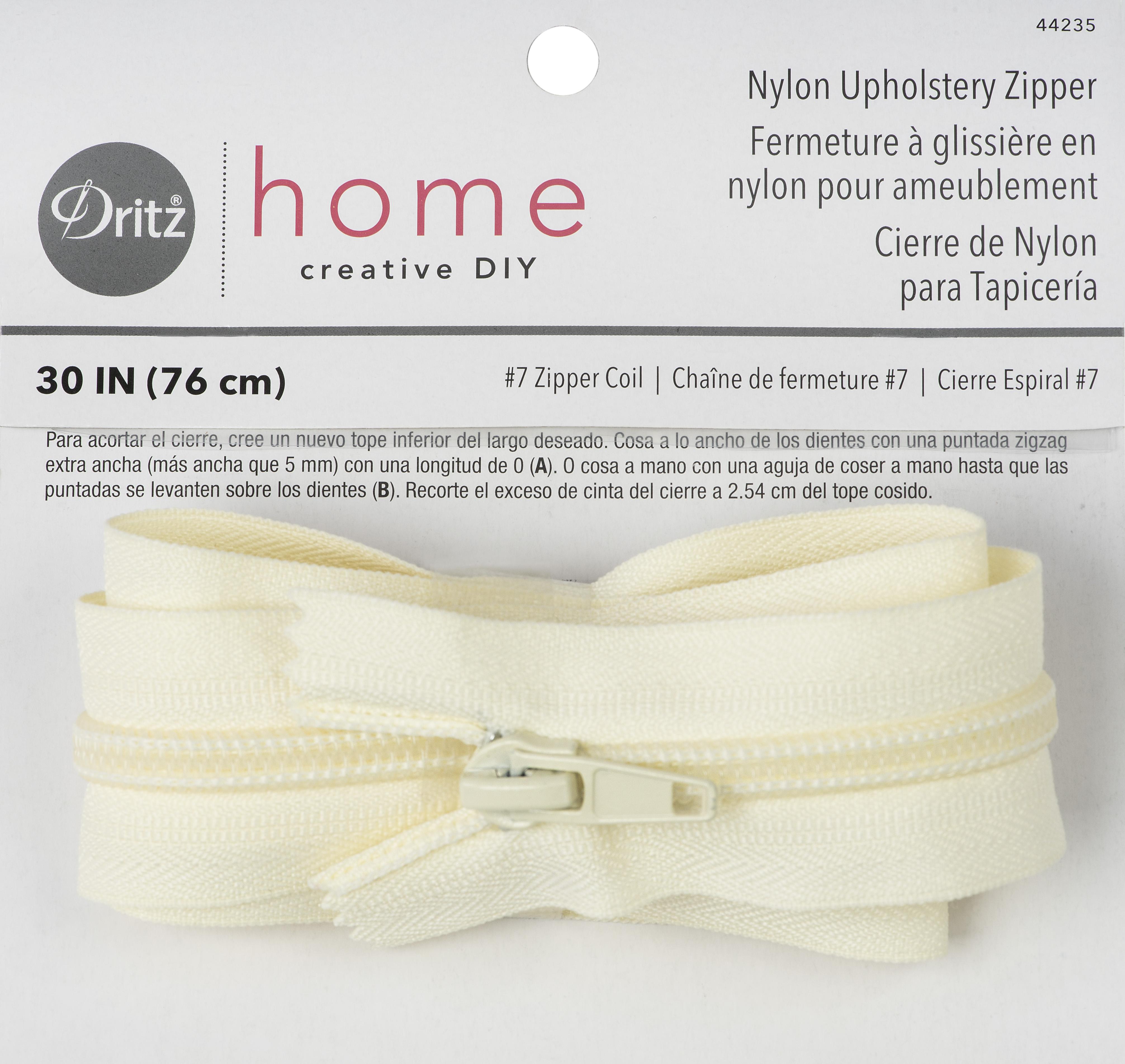 Upholstery Zipper