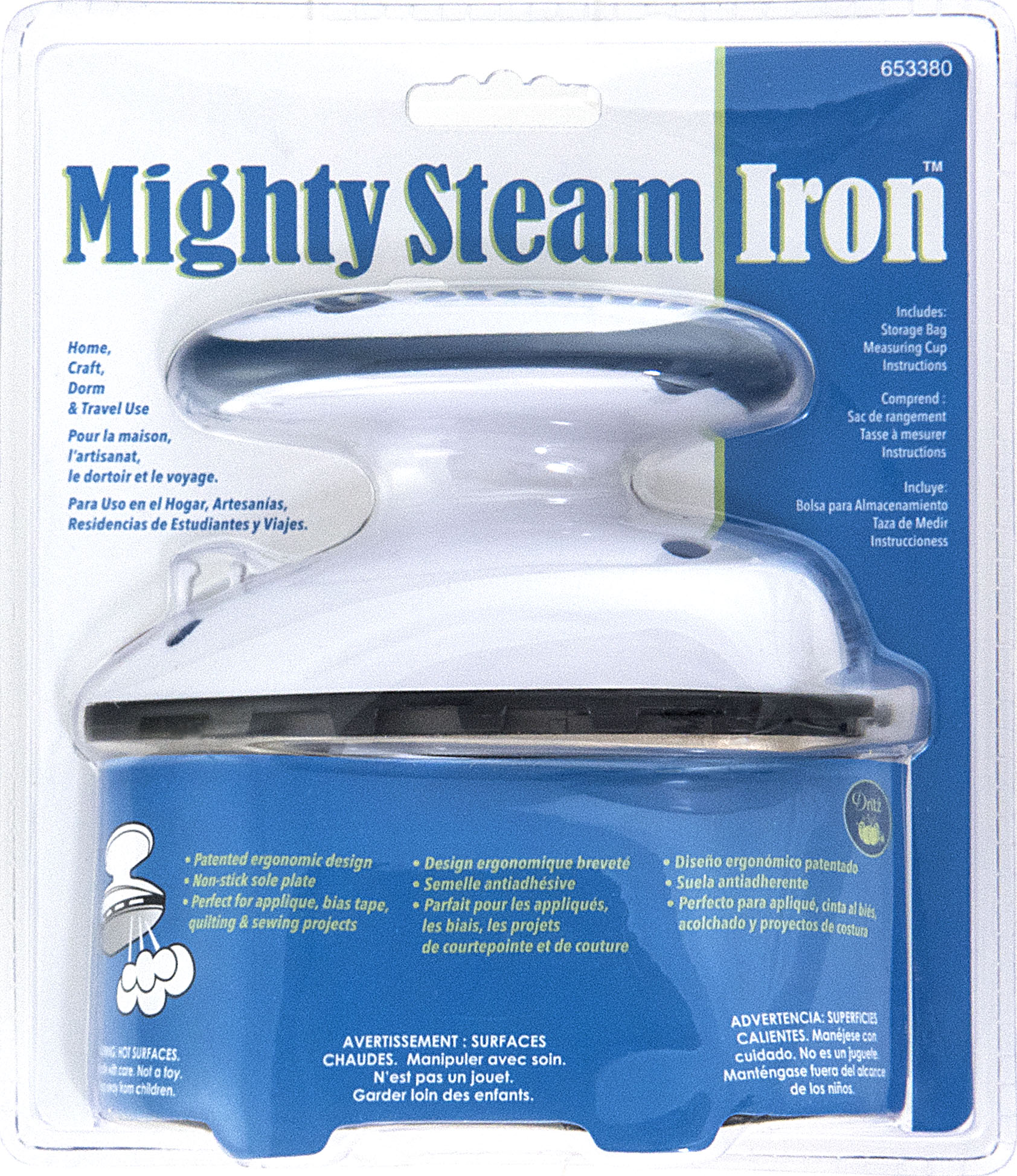 Dritz 653380 Mighty Steam Iron Only $45.99