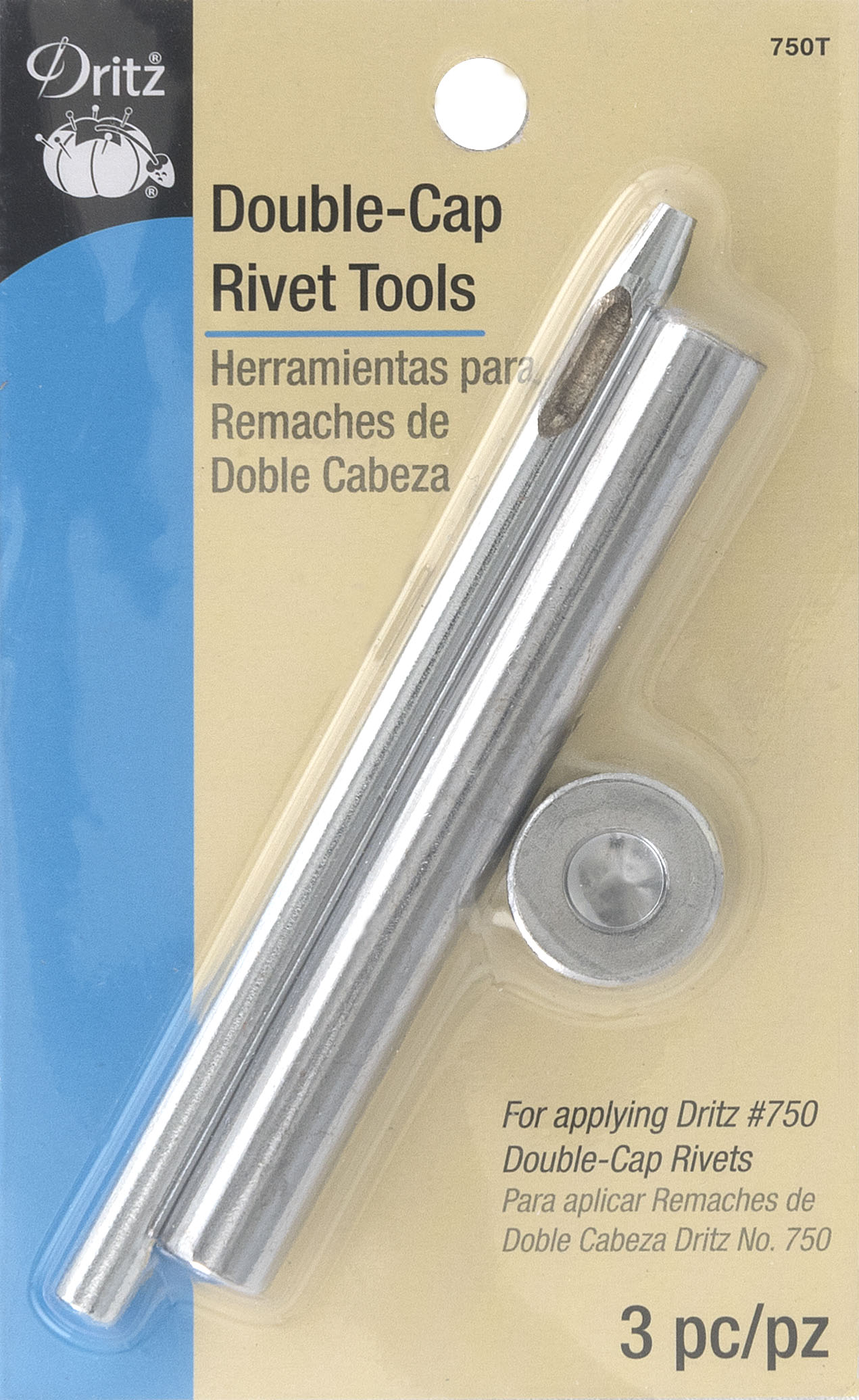 DRITZ Double-Cap Rivet Tools-750T