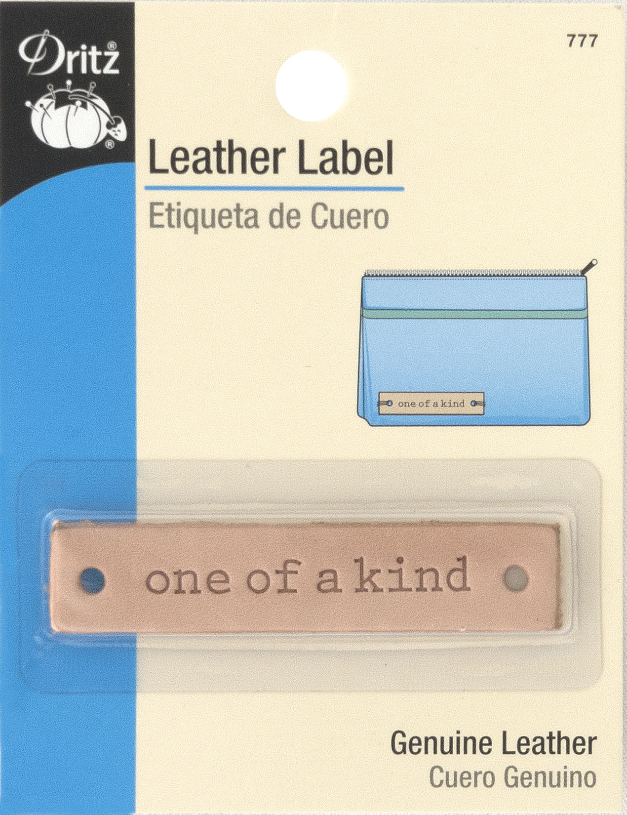 Dritz - Leather Label One of a Kind