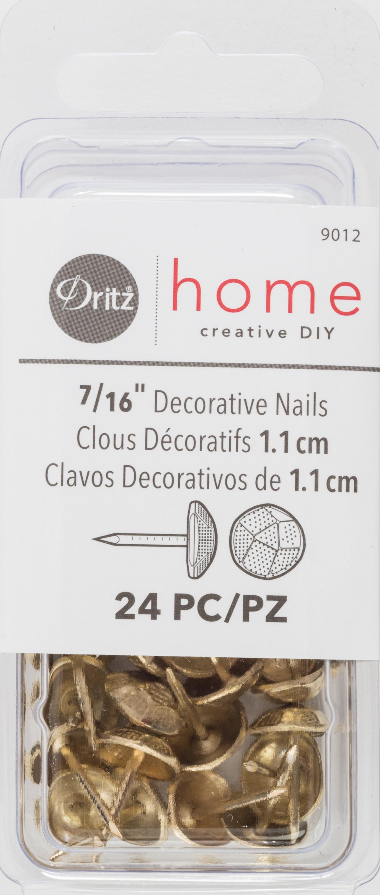 Decorative Nails, Brass