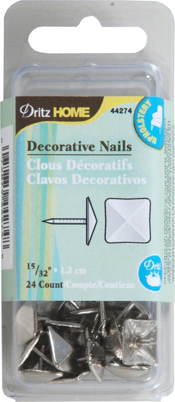 DZ44274 Decorative Nails, Silver