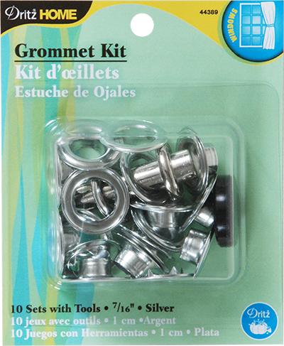 Dritz Grommets 7/16 Silver 10 Sets