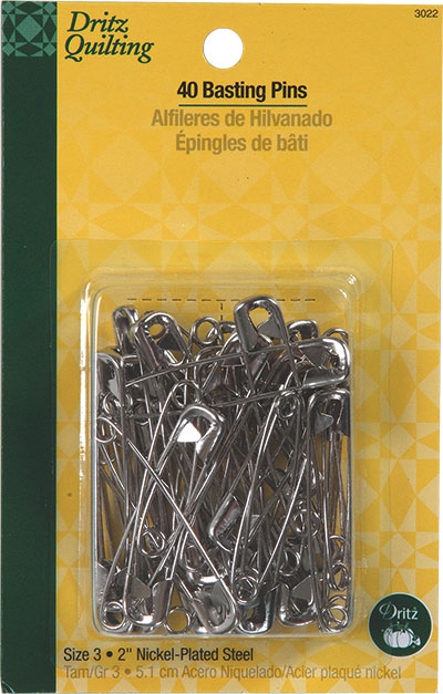 Basting Safety Pins 2  40PC 3022