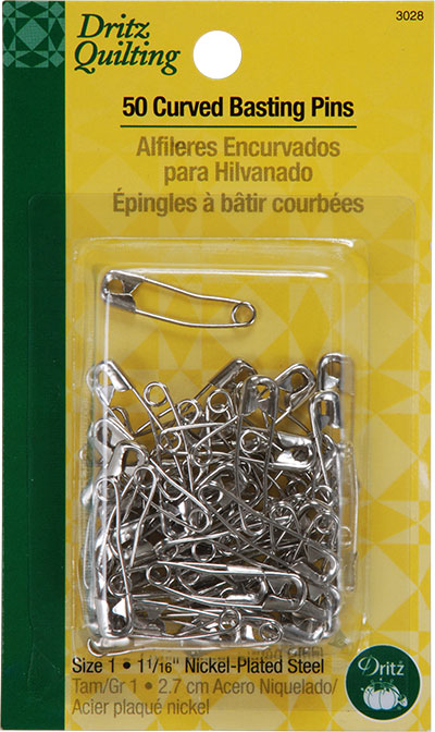 Curved Basting Pins 3028