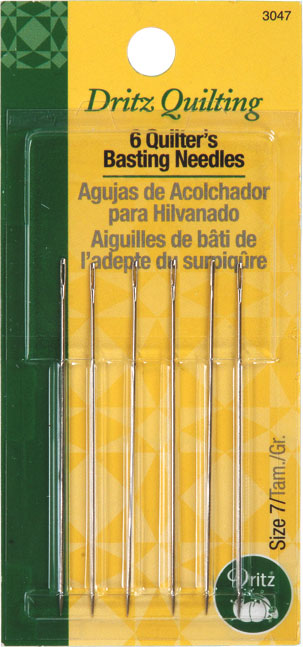 Quilter's Basting Hand Needles
