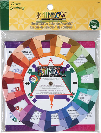 Rainbow Color Wheel Selector