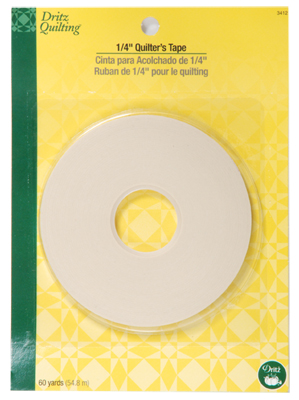 Quilter's Tape 1/4 Inch single faced tape