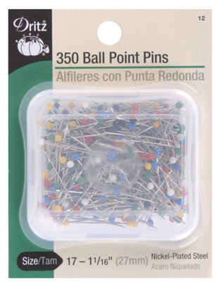 Ball Point Pins Size 1 1/16