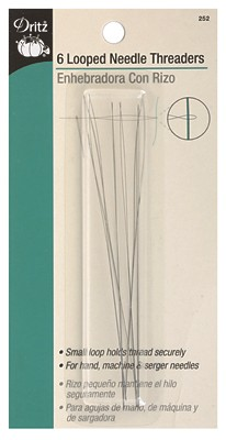 Dritz Looped Needle Threaders - 6pk