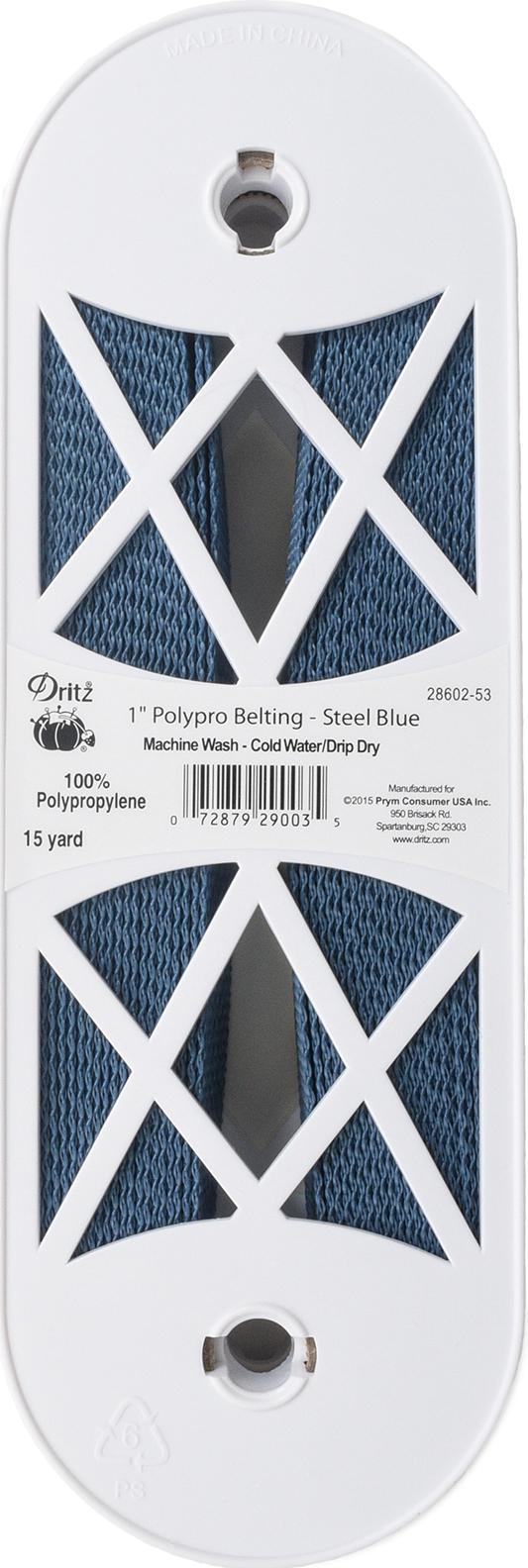 Polypro Belting Blue Steel