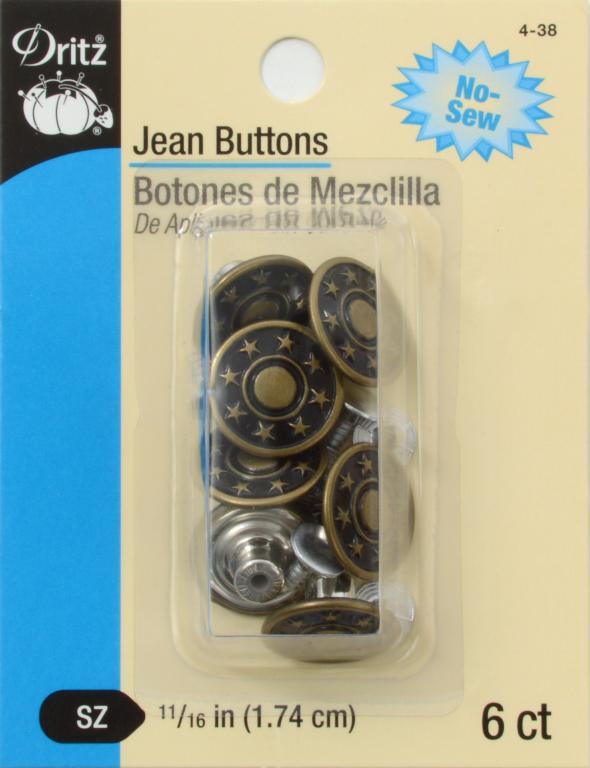 Jean Buttons Antique