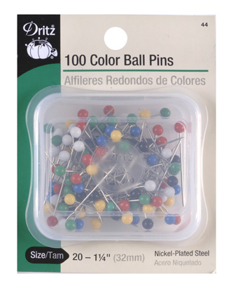 Color Ball Pins Size 20
