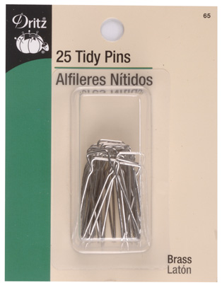 Tidy Pins - Brass Plated