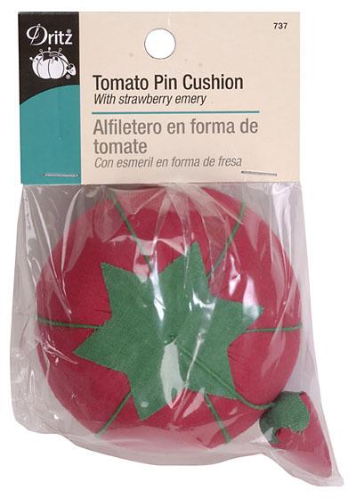 Pin Cushion Dritz Tomato w/Emery Pink Blue & Purple