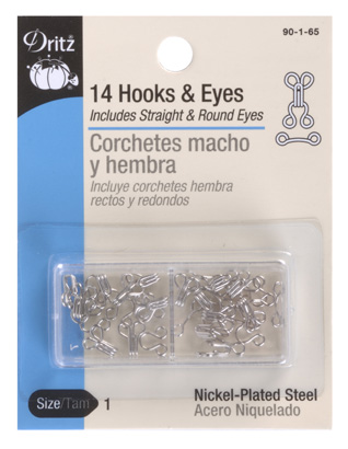Hooks & Eyes Nickel