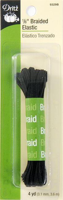 Braided Elastic 1/8 Inch