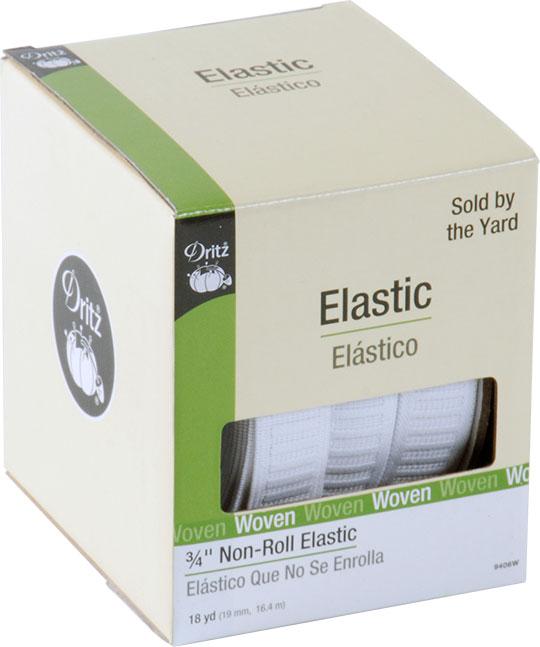 Dritz Non-Roll Elastic 3/4 Inch