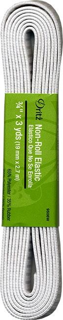 Elastic Dritz Non-Roll Elastic 3/4 Inch x 3 yards