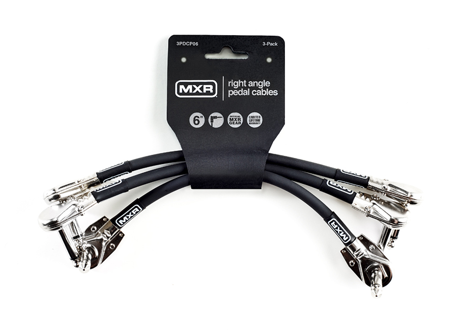 MXR Cable Patch 6in 3/Pack