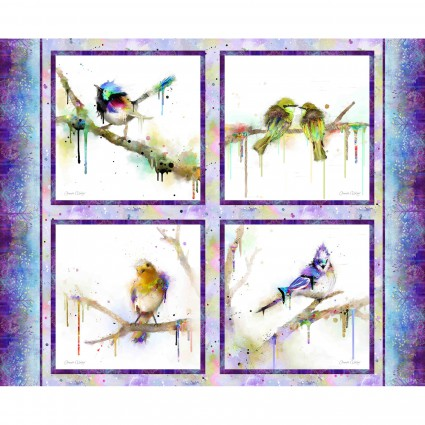 Colour Splash Bird Panel