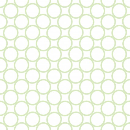 Carnivale Blue Packed Circles White Fabric Yardage 12627-W