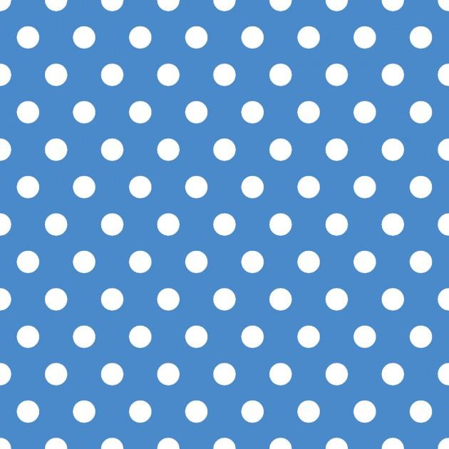 Carnivale Blue Dot Blue Fabric Yardage 12926-B