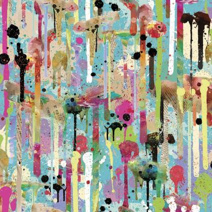 Connie Haley - Sassy Animals - Paint Splash